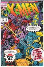Marvel Collector's Edition: X-Men (Pizza Hut) (1993) #3 Variant B: Polybagged; Pizza Hut Giveaway