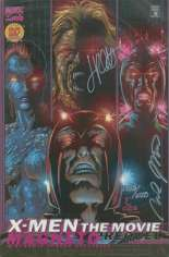 X-Men: The Movie Prequel - Magneto (2000) #1 Variant F: DF Signed Edition; Signed by Jimmy Palmiotti and Mike Marts; Limited to 3000 Copies w/ COA