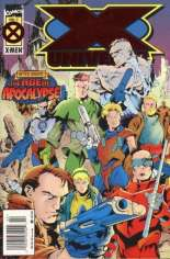X-Universe (1995) #2 Variant A: Newsstand Edition; Foil Cover