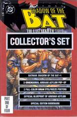 Batman: Shadow of the Bat (1992-2000) #1 Variant C: Collector's Set: Polybagged with Posters, Arkham Blueprint, Pop-Up