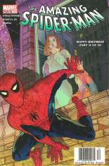 Amazing Spider-Man (1999-2014) #58 Variant A: Newsstand Edition; Alternately Numbered #499