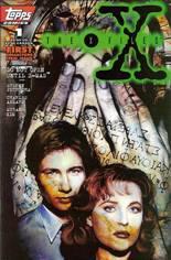 X-Files (1995-1998) #1 Variant A: Newsstand Edition