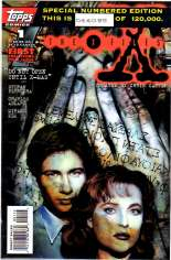 X-Files (1995-1998) #1 Variant E: 2nd Printing; Limited to 120,000 Copies