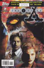 X-Files (1995-1998) #2 Variant B: 2nd Printing; Limited to 90,000 Copies