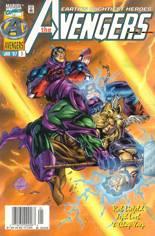 Avengers (1996-1997) #3 Variant A: Newsstand Edition