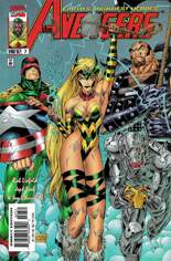 Avengers (1996-1997) #7 Variant B: Direct Edition