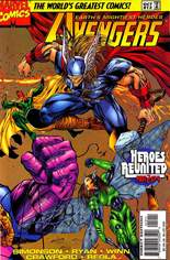 Avengers (1996-1997) #12 Variant B: Direct Edition