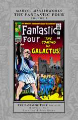 Marvel Masterworks: The Fantastic Four (2003-Present) #HC Vol 5 Variant A: Silver Dust Jacket; 2nd Edition; Also See: Marvel Masterworks (1987-2002) HC Vol 25