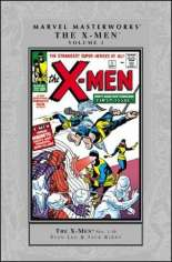 Marvel Masterworks: The X-Men (2003-2010) #HC Vol 1 Variant A: Silver Dust Jacket; 2nd Edition; Also See: Marvel Masterworks (1987-2002) HC Vol 3