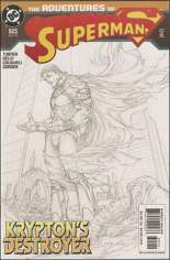 Adventures of Superman (1987-2006) #625 Variant B: 2nd Printing; Sketch Cover