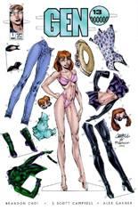 Gen 13 (1995-2002) #1 Variant J: Paper Doll Cover
