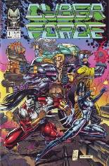 Cyberforce (1992-1993) #1 Variant A: Includes Image Comics #0 Redemption Coupon