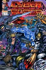 Cyberforce (1992-1993) #2 Variant A