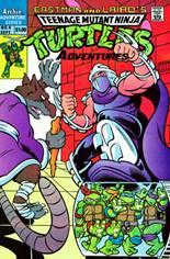 Teenage Mutant Ninja Turtles Adventures (1989-1995) #4 Variant A
