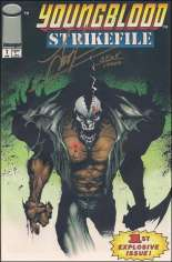 Youngblood Strikefile (1993-1995) #1 Variant B: DF Signed Edition; Signed by Jae Lee; Limited to 10,000 Copies with COA