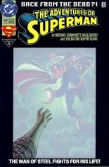 Adventures of Superman (1987-2006) #500 Variant C: Deluxe Cover w/ Translucent Cover; Not Polybagged