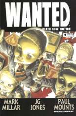 Wanted (2003-2005) #4 Variant B: Death Row Edition