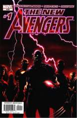 New Avengers (2005-2010) #1 Variant B: Direct Edition