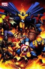 New Avengers (2005-2010) #1 Variant C: Team Cover