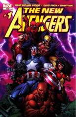 New Avengers (2005-2010) #1 Variant E: Purple Lightning Cover