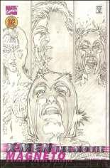 X-Men: The Movie Prequel - Magneto (2000) #1 Variant E: DF Exclusive Sketch Cover; Limited to 2000 Copies w/ COA