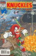 Knuckles the Echidna (1997-2000) #1: Cover Title of #1-3 is ''The Dark Legion''