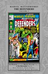 Marvel Masterworks: The Defenders (2008-Present) #HC Vol 1 Variant A: Silver Dust Jacket