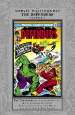 Marvel Masterworks: The Defenders (2008-Present) #HC Vol 2 Variant A: Silver Dust Jacket