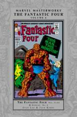Marvel Masterworks: The Fantastic Four (2003-Present) #HC Vol 6 Variant C: 2nd Printing; Silver Dust Jacket; 2nd Edition; Also See: Marvel Masterworks (1987-2002) HC Vol 28