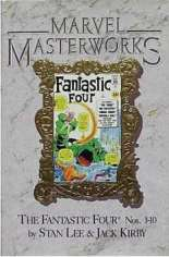 Marvel Masterworks: The Fantastic Four (2003-Present) #TP Vol 1 Variant D: Marble Cover; New Edition; Marvel Masterworks Library Vol. 2