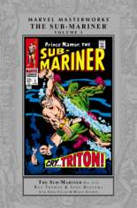 Marvel Masterworks: The Sub-Mariner (2004-Present) #HC Vol 3 Variant A: Silver Dust Jacket