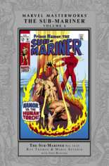 Marvel Masterworks: The Sub-Mariner (2004-Present) #HC Vol 4 Variant A: Silver Dust Jacket