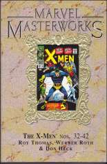 Marvel Masterworks: The X-Men (2003-2010) #HC Vol 4 Variant D: 2nd Printing; Marble Dust Jacket; Marvel Masterworks Library HC Vol. 35